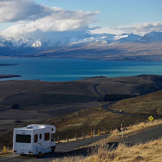 Travelling in New Zealand by motorhome