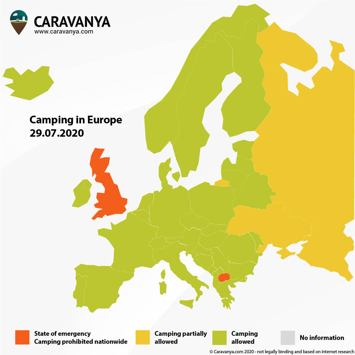 Corona Europe Map