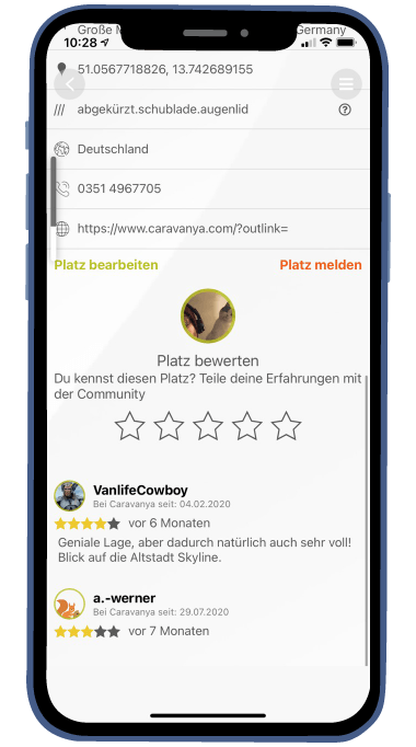 Reviews at Caravanya