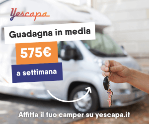 Yescapa - furgone camper in affitto